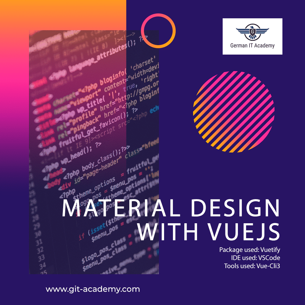Material Design with VueJS