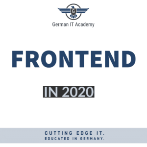 Frontend in 2020