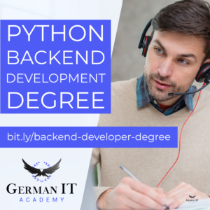 Python Backend Development Online Degree for free German IT Academy