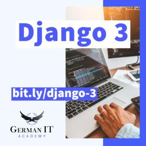 django 3 course