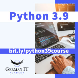 python 3.9 for beginners course